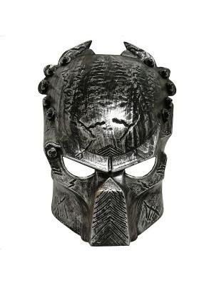Alien Predator Mask Silver
