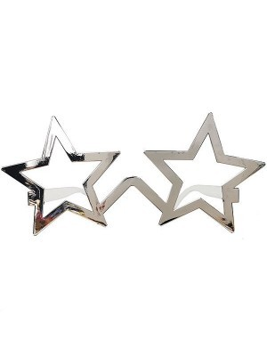 Silver Star Frame Sunglasses