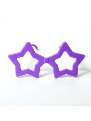 Small Star Glasses Purple