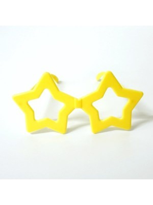 Small Star Glasses Yellow