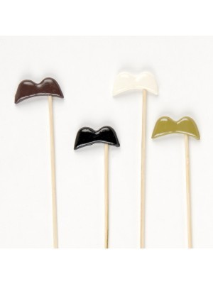 Set of 4 Quality Funny Major Moustaches