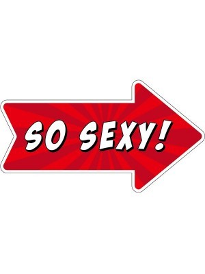 'So Sexy' Word Board Photo Booth Prop