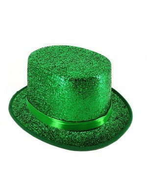 St Patricks Day Irish Emerald Green Top Hat