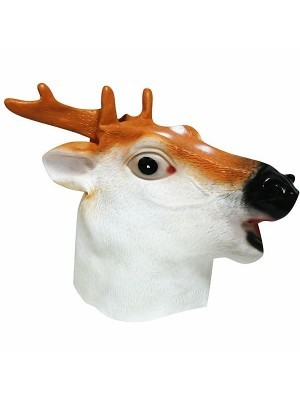 Fancy Dress, Costume Stag Deer Head Mask