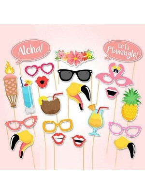 Summer Tropical Props On Sticks
