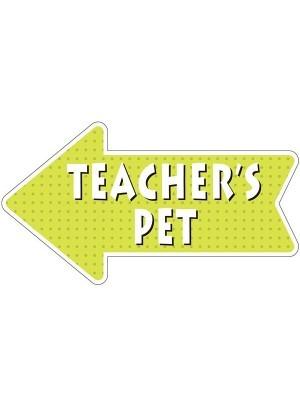 'Teacher's Pet' Word Board Photo Booth Prop