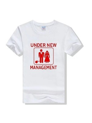 'Under New Management' Stag Do T-shirt
