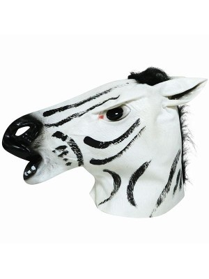 Fancy Dress, Costume Zebra Head Mask