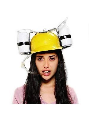 Drinking Helmet Yellow