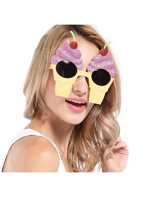 Cherry Ice Cream Cone Sunglasses