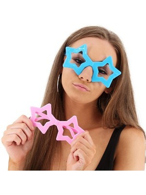 6 Pack Of Small Star Glasses