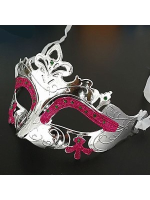 'Little Fairy' Mask Silver