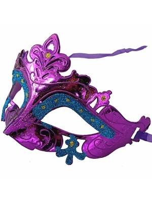 'Little Fairy' Mask Purple