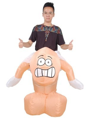 'Ride A Willy' Inflatable Fancy Dress Costume