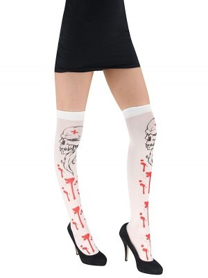 Adult Bloody Skull Head Stockings