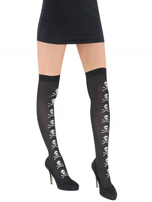 Adult Stockings - Pirate Skull & Crossbones