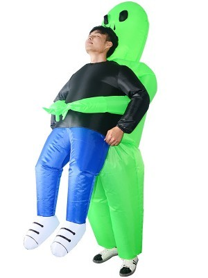 Alien Abduction Inflatable Illusion Fancy Dress Costume