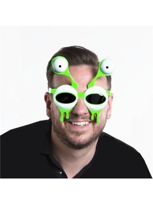 Green Alien Monster Sunglasses