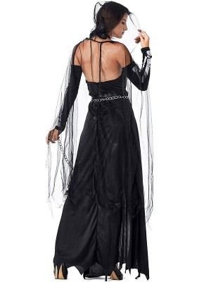 Angel of Death Enchantress Fancy Dress Halloween Costume – Size UK 8-10