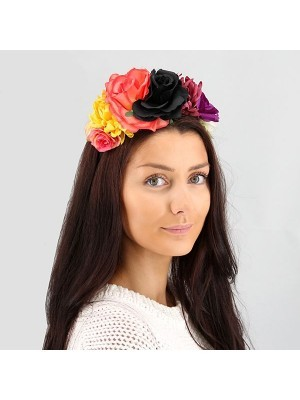 Autumnal Mixed Flower Crown