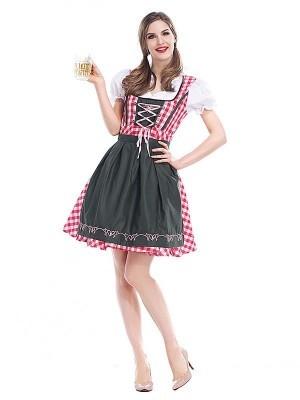 Bar Maid Oktoberfest Fancy Dress Costume