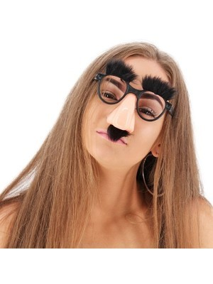 Big Nose and Fake Moustache Disguise Children's Glasses