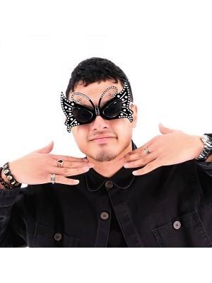 Beautiful Black Butterfly Sunglasses