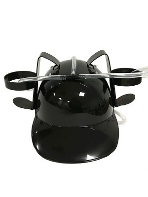 Drinking Helmet Black