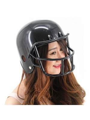 Black American Football Helmet