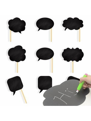 Chalkboard Props On Sticks