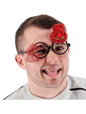 Christmas Top Hat Glasses