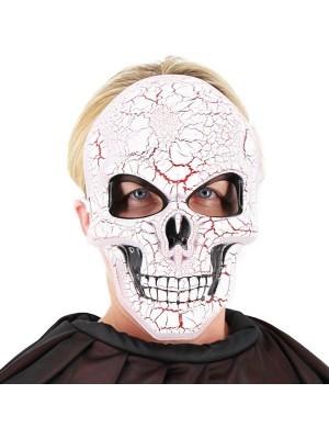Evil Demon Skeleton Face Mask Halloween Fancy Dress Costume