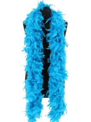Deluxe Bondi Blue Feather Boa – 100g -180cm
