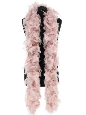 Deluxe Dust Storm Pink Feather Boa – 100g -180cm