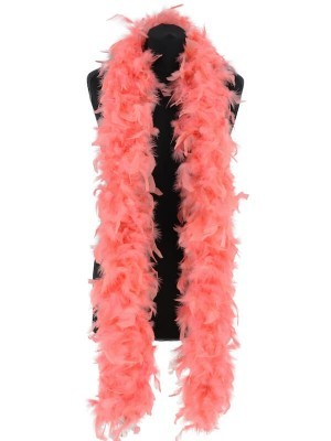Deluxe Flamingo Pink Feather Boa – 100g -180cm