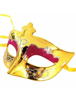 Eyeshadow Masquerade Mask Gold