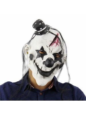Fancy Dress, Costume Bald Killer Clown Mask