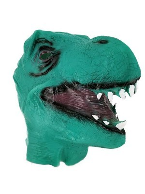 Fancy Dress Costume T-Rex Dinosaur Head Mask Props