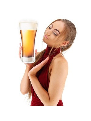 Giant Tall Pint Beer Glass Photo Booth Prop