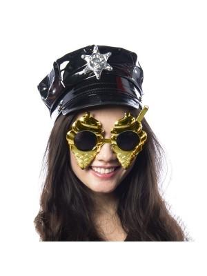 Gold Mr Whippy Ice Cream And Flake Sunglasses