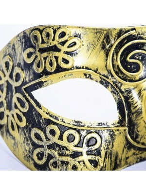 Warrior Face Mask Gold
