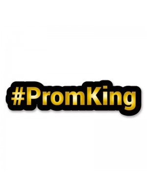 #PromKing Trending Hashtag Oversized Photo Booth PVC Word Board Sign