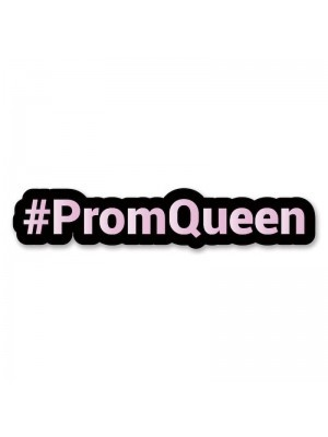#PromQueen Trending Hashtag Oversized Photo Booth PVC Word Board Sign