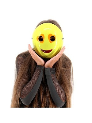 Heart Eyes Emoji Mask