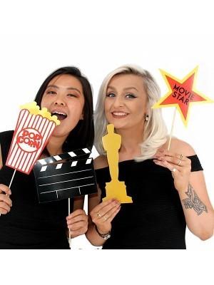 Hollywood Oscar Props On Sticks
