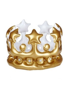 Inflatable Gold Royal Crown