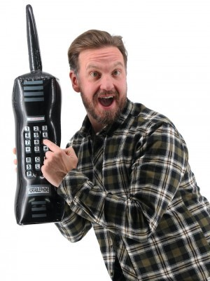 Giant Inflatable Retro Mobile Phone