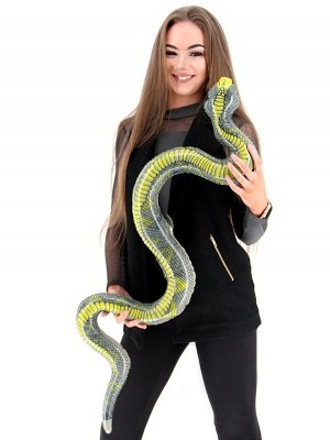 Giant Inflatable Boa Constrictor Snake
