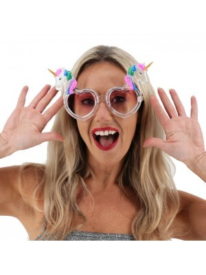 Jelly Glitzy Double Unicorn Sunglasses