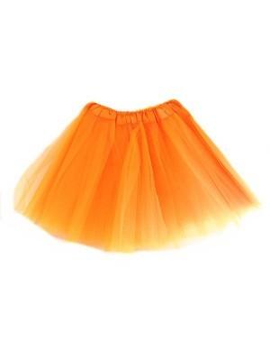 Kids Size Orange Tutu Skirt